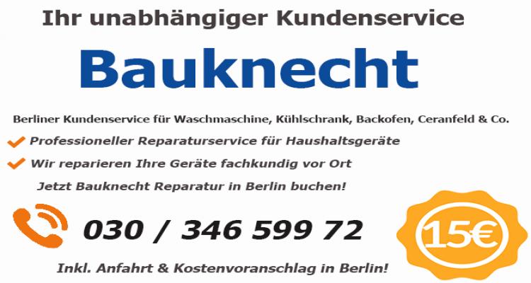 Bauknecht Kundendienst Schnell Reparaturdienst Haushaltsgerate